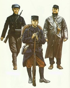 Belgian Army 1915