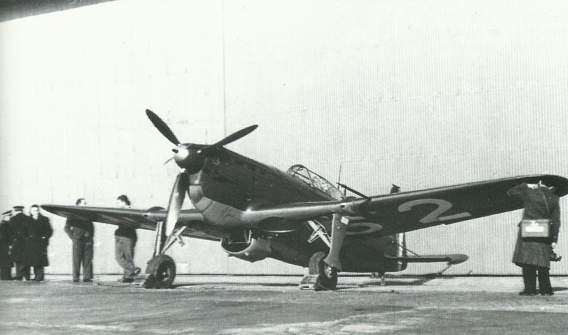 M.S.406 during delivery.