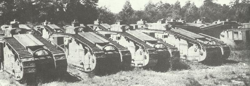 Mk VIII tanks for Canada