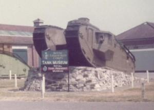 Mk VIII in the RAC Tank Museum.