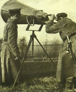 anti-aircraft early warning device