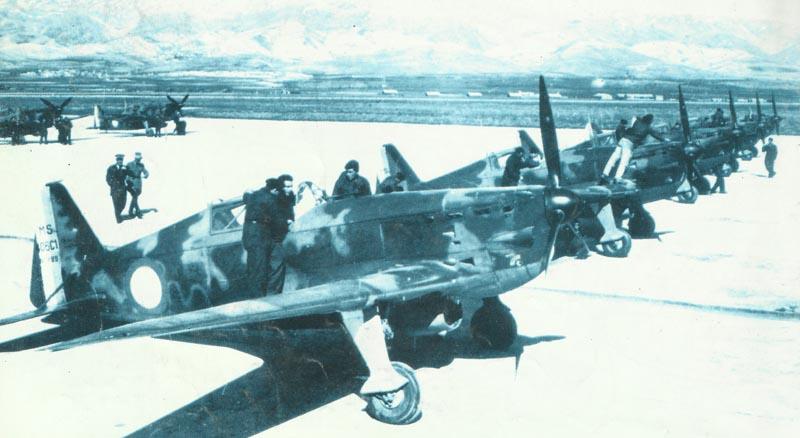 New Morane M.S.406 fighters