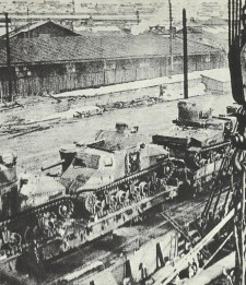 M3 Lee's at Murmansk