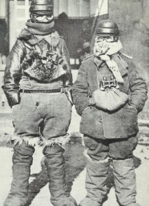 Arctic disguise  for pilots