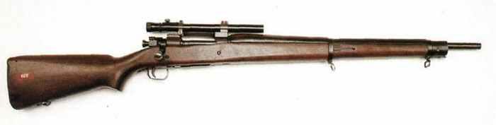 sniper version had a Weaver telescopic sight