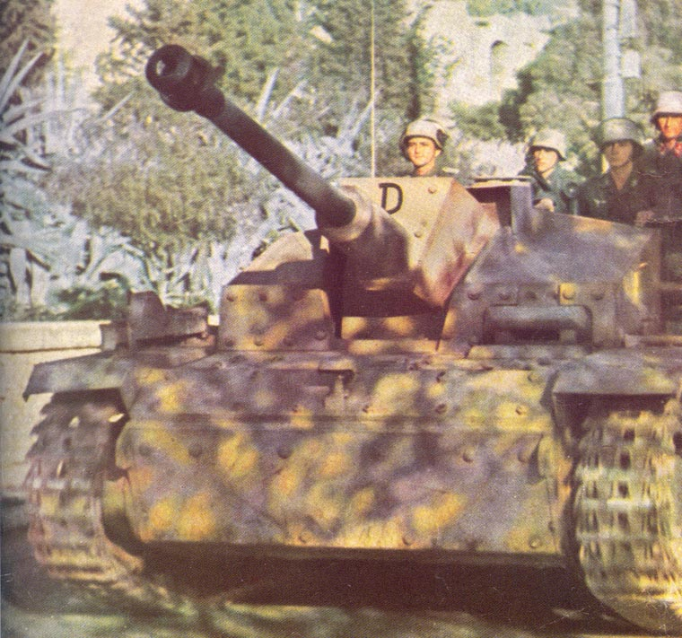 StuG 40 G in Athens