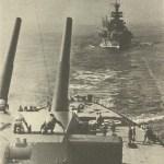 Guns of turret C elevated