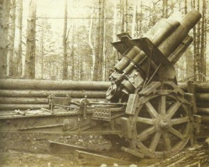 German 21-cm-mortar L/12