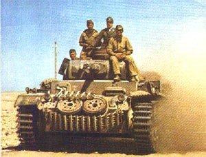 Panzer 3 in Western Desert