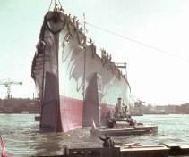 Launch of Tirpitz