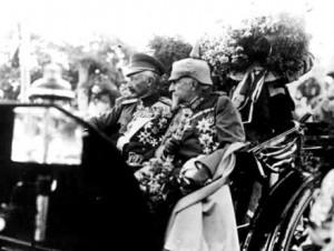 Tsar Ferdinand and Kaiser Wilhelm II