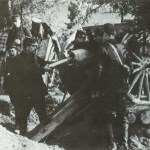 French 75-mm mle 1897 field gun in action