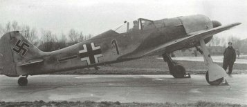 Fw 190 A-1 from JG 26