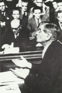 Pierre Laval at court