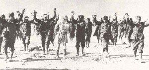 Italian troops surrender