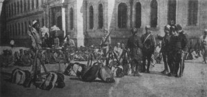 Ottoman mevlavi dervish volunteers