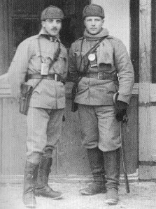 Two subaltern officers of Austro-German troops