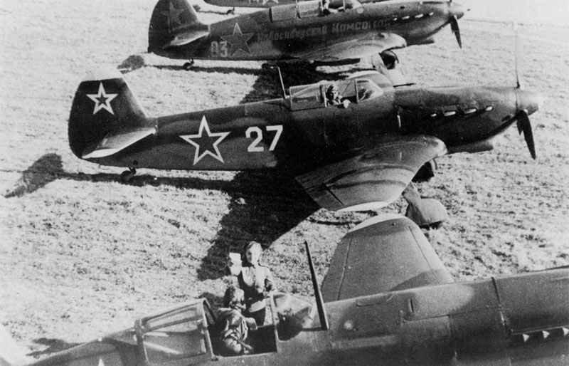 Yakovlev Yak-7DI fighters