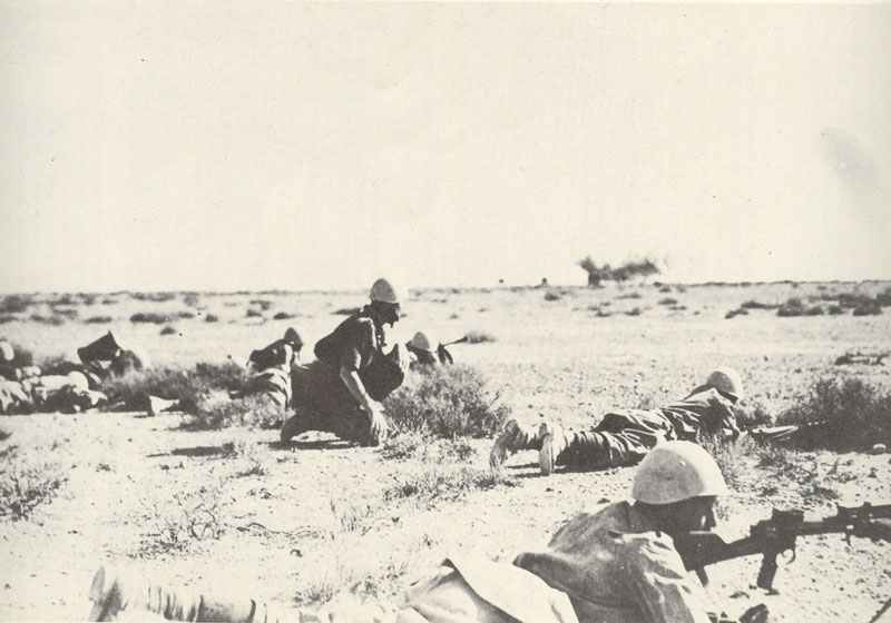 Italian infantry in the Western Desert i
