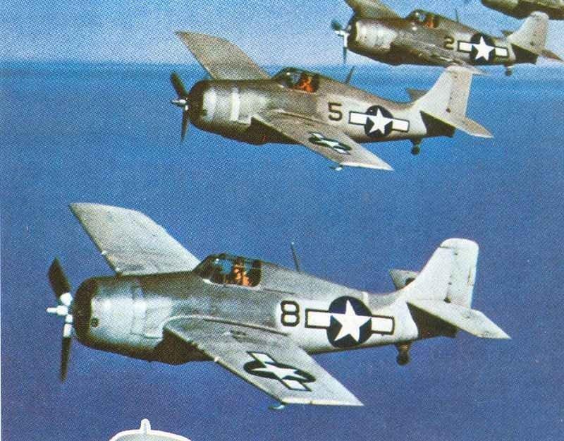 Eastern Aircraft FM-1 Wildcats