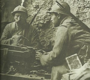 French soldiers Fort Douaumont
