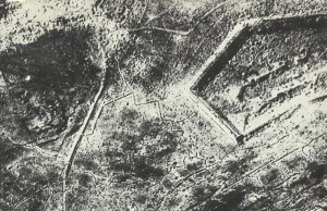 Aerial picture Fort Douaumont