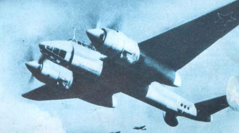 Tu-2 bombers