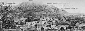 Panoramic photograph East Africa