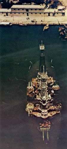 sunken Greek battleship Kilkis