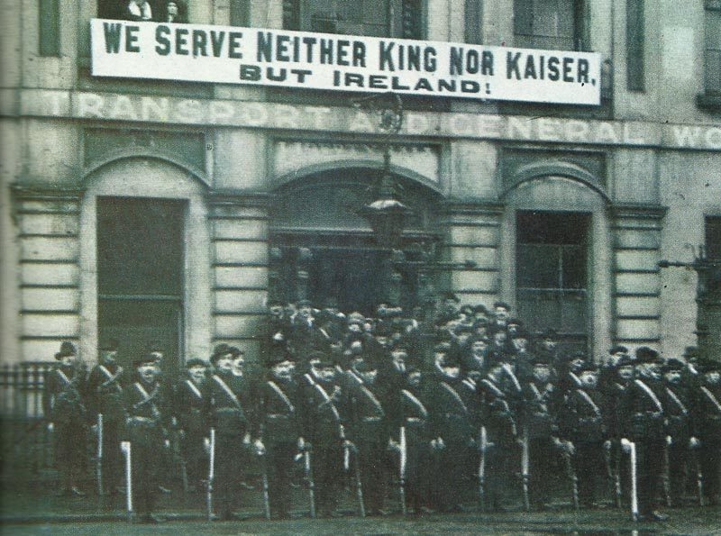 Members of the Irish Citizen Army