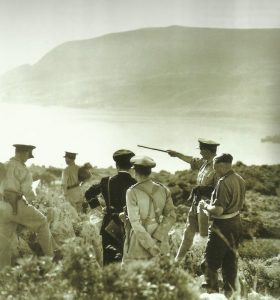 Brigadier Tidbury on Crete