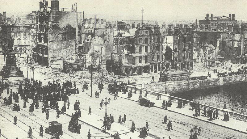 Dublin in ruins