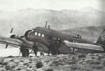 Ju 52 landed on Maleme airfield