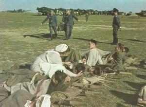 Ju 52 1943 Sicily as ambulance