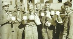 Evacuated Brits vom Crete
