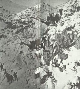 Italian artillerymen  Trentino