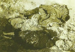 Mass grave for fallen Russians