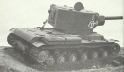 Russian heavy KV-2 tank