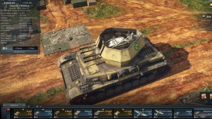 Anti-aircraft tank Wirbelwind