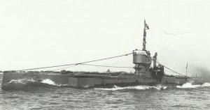 British submarine E54