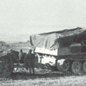 88mm Pak 43 on SdKfz 10