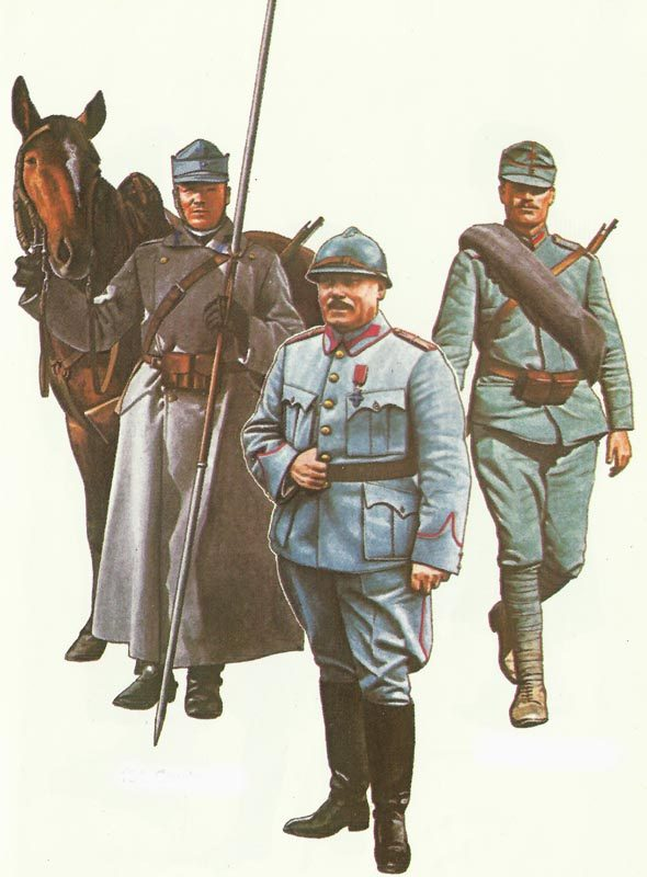 Soldiers Romania 1916-1918