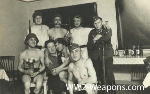 German Elite combat group