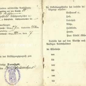 German Military passport
