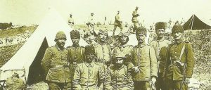 Turkish officers Galicia