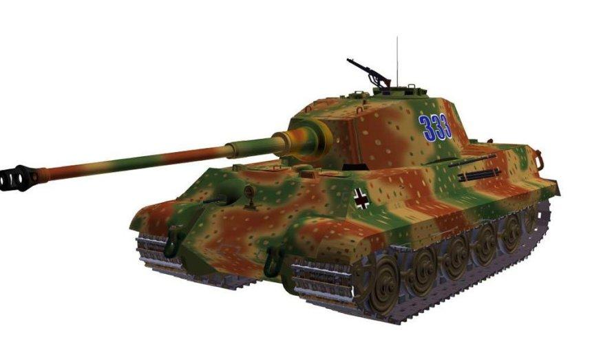 PzKpfw VI Ausf B Tiger II (Henschel)