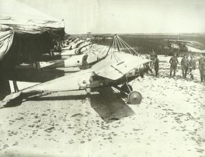 Airfield of Royal Flying Corps