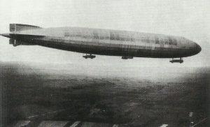 German naval 'Super Zeppelin' L32