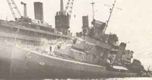 US destroyer Kearny (DD-432) was also damaged by a German U-boat
