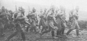 Russian infantry in Macedonia